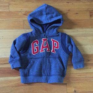 Gap Boys 12-18M Zip Up Hoodie